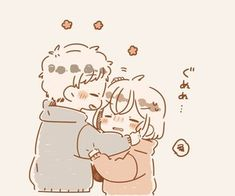 Image shared by BabyGirl. Find images and videos about love, cute and couple on We Heart It - the app to get lost in what you love. Cute Chibi Couple, Cute Couple Art, Cute Couple Drawings, Cute Drawings, Cute Anime Chibi, Kawaii Anime, Cute Anime Couples, Kawaii Doodles, Cute Icons