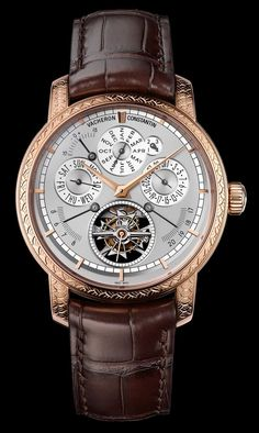 """Vacheron Constantin Traditionnelle Calibre 2253 L'Empreinte Du Dragon Watch With Engraved Scales - """"This one-of-a-kind 'piece unique' watch from Vacheron Constantin comes with a case that has been hand-engraved with a dragon scales motif and a sensible price of over $500,000... The dragon theme is more than likely in honor of the powerful Chinese Zodiac sign, but... in honor of dragons, I decided to listen to the Game of Thrones opening theme on repeat while writing this article..."""""""