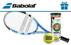 Un set de raqueta y tubo de pelotas para volver a disfrutar del juego estando de estreno para el remate del último set.