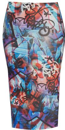 #Topshop                  #Skirt                    #Grafitti #Tube #Skirt #Skirts #Clothing            Grafitti Tube Skirt - Skirts - Clothing                                       http://www.seapai.com/product.aspx?PID=584805