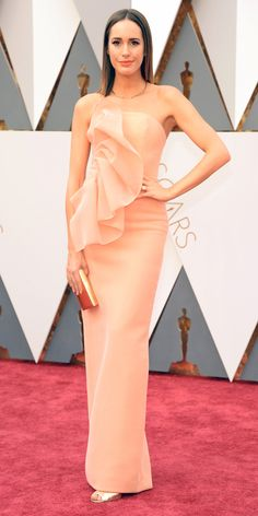 2016 Oscars Red Carpet Photos - Louise Roe  - from InStyle.com