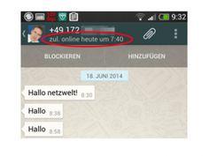 """Privatsphäre schützen unter WhatsApp: """"Zuletzt online""""-Status unter Android verbergen"""