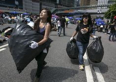 Hong Kong's Occupy Central demonstrators are courteous. That's actually what makes them so dangerous.