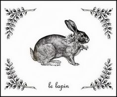 Bunny ~ The Graphics Fairy Historia Do Radio, Stencil, Lapin Art, Images Vintage, Vintage Pictures, Bunny Art, Easter Printables, Graphics Fairy, Vintage Easter