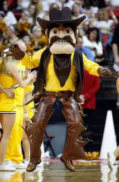 Pistol Pete, University of Wyoming Wyoming Football, Wyoming Cowboys, Pistol Pete, March Madness, University, Fat, College, Sports, Dress
