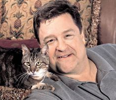 John Goodman looks like a great cat dad to me!