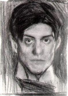 Picasso, autoportrait, 1900 (18 ans)