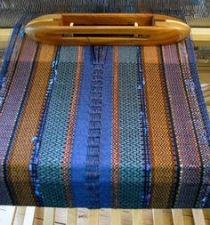 Supplemental warp Kindred Threads: Tying one on