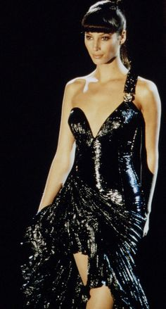 Christy Turlington - Gianni  Versace 1994                                                                                                                                                                                 More