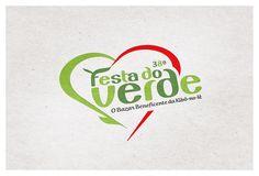 Festa do Verde Kibô-no-Iê, logo by www.alexguerra.com.br #festadoverde #kibonoie #agalexguerra #alexguerra #logo #logotipo