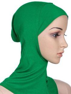 Women's Under Scarf Hat Cap Bone Bonnet Ninja Hijab Islamic Neck Cover Muslim Underscarf Hijab Cap Muslim Swimwear, Popular Hats, Bonnet Cap, Hijab Caps, Muslim Hijab, Scarf Hat, Traditional Outfits, 1 Piece, Womens Scarves