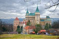 Slovakia - Igor Supuka 178 - Europe, Slovak republic, Castle in Bojnice village near to Prievidza city