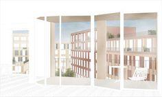 flaminio neighbourhood masterplan . rome