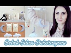 Bebek Odası Süsleri Kendin Yap | DIY Baby Room Decoration - YouTube