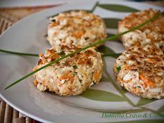 Receita Prato Principal : Mini-hamburguer de cenoura e ricota de Daniella Carrara