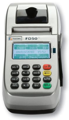 credit card machine for taxi cab