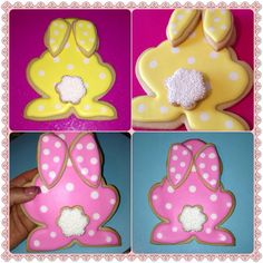Giant Easter Bunny Sugar Cookie