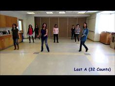 Blue Jeans Talk - Line Dance (Dance & Teach) - YouTube