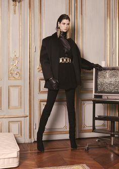 Asian inspiration continues at Balmain with the newly released lookbook for the Fall/Winter 2013-2014 pre-collection.