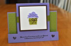 Center Step Cupcake by btanc14 - Cards and Paper Crafts at Splitcoaststampers
