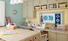 The Ultimate Craft Room-Lowes
