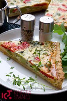 Tarta - francuska quiche z warzywami. Najlepszy przepis i zdjęcia tarty i quiche. Danie dla rodziny z bobem