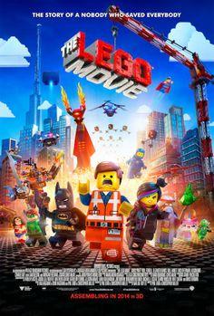 #TheLEGOMovie (2014) Official Movie Poster #film