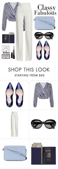 """Classy&&&Fabulous"" by nicolekiddzoo ❤ liked on Polyvore featuring Love, Brandon Maxwell, Acne Studios, MICHAEL Michael Kors, Royce Leather and Givenchy"