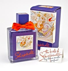 1943 Salvador Dali - Schiaparelli Perfume Bottle - May 2012 Antique Perfume Bottles, Vintage Bottles, Perfume Oils, Elsa Schiaparelli, Salvador Dali Perfume, Brand Symbols, Glass Design, Glass Art, Fragrance