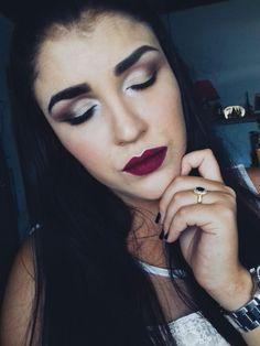 Maquiagem Inspiração para Formatura e Festas de Fim de Ano. - Instagram: @tatyramos14