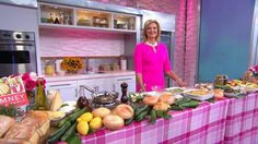 I made zucchini casserole on Good Morning America yesterday. Watch the video for my recipe!