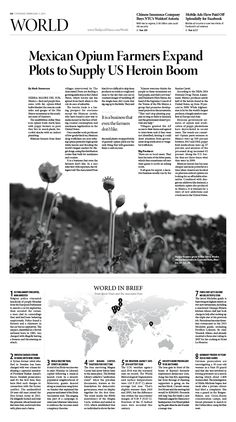 mexican opium farmers expand plots to supply us heroin boom epoch times newspaper