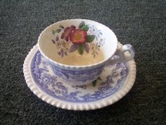 spode spode's mayflower cup and saucer