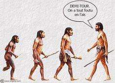 évolution ... demi tour ... impossible
