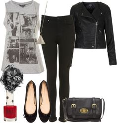 """""""Casual outfit for school Requested"""" by perries-closet ❤ liked on Polyvore"""