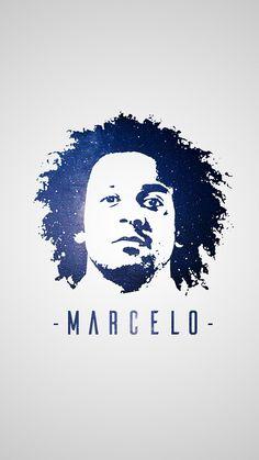 Marcelo - Real Madrid - Madridista - Photoshop Design