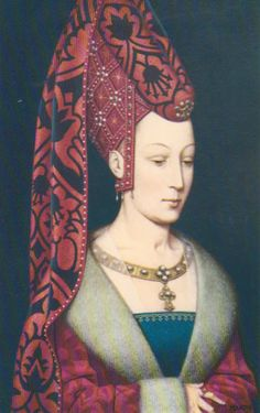 Isabella van Portugal - Philip the Fair married three times. His third wife was Isabella of Portugal.