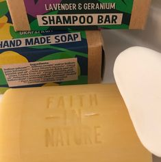 Faith in Nature Lavender and Geranium shampoo bar, £5.79, Boots Thousands of plastic soap and shower gel dispensers and shampoo bottles are thrown in the bin every day, and many of these are not even recyclable.While giving up flying is too big of a sacrifice for most of us going about our day-to-day lives, there are some easy and cheap changes we can make that will help to reduce our carbon footprints a little bit. And if everyone does a little bit, we will start to see results.So [...] Best Shampoo Bars, Shampoo Bottles, Best Shampoos, Soap Dispensers, Hair Conditioner, Carbon Footprint, Geraniums, Shower Gel, Pretty Good