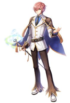 Male Genetic New Costume Official Illustration