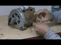 Motor 6 cables Identificar sin multimetro-6 wires washer motor How to identify without multimeter - YouTube