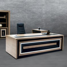 Find out all of the information about the SOLENNE OFFICE FURNITURE product: executive desk FLAT . Office Counter Design, Shop Counter Design, Office Table Design, Office Furniture Design, Office Interior Design, Office Interiors, Reception Table Design, Living Room Partition Design, House Ceiling Design