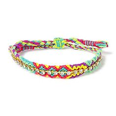Friendship Bracelet with Rhinestone Accent from @Fellow Fellow's Stores