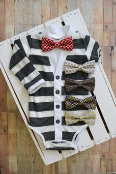 Hey, I found this really awesome Etsy listing at https://www.etsy.com/listing/173106986/sale-preppy-baby-cardigan-onesie-gray