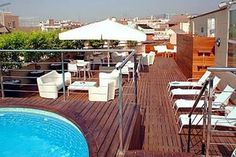 #Low #Cost #Hotel: AMERICA HOTEL, Barcelona, Spain. To book, checkout #Tripcos. Visit http://www.tripcos.com now.