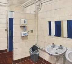 Environment Painting, Will Smith, Painting & Drawing, Sink, Toilets, Paintings, Drawings, Home Decor, Sink Tops