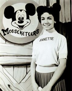 Annette Funicello 1956 'Mouseketeer' The Mickey Mouse Club