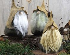 THORNE the Wizard Woodland Gnome 6 Tall by TheGnomeMakers on Etsy