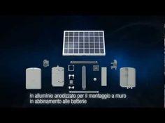 Zero E solar panel for powering GARD barrier and FAST 40 gate motors
