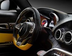 """Check out new work on my @Behance portfolio: """"Amg-gt Croc... interior"""" http://be.net/gallery/46171285/Amg-gt-Croc-interior"""