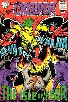 BEWARE THE CREEPER 3 SILVER AGE DC COMICS Art by Steve Ditko